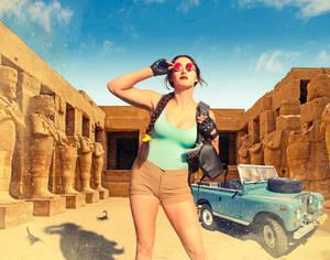 Arrival at Karnak