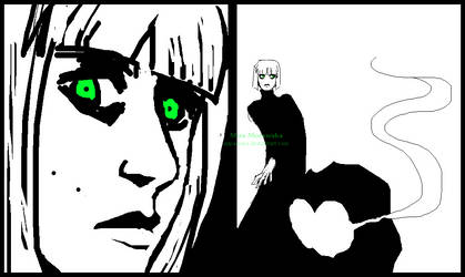 Ultra Green Eyes by MiraMora
