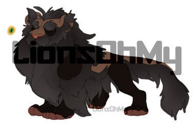 Grey Muzzle Lion Adopt Auction [OPEN] by LionsOhMy