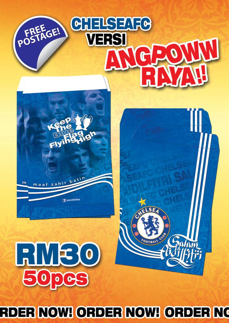 Sampul Raya Chelsea Fc 2012 by mietony