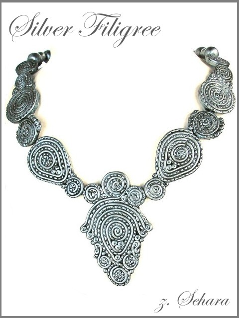 Silver Filigree by sehara