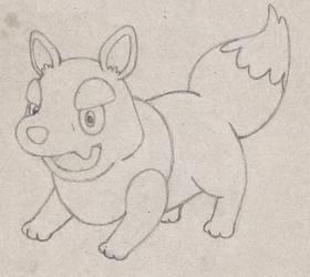 Arctic Wolf Pokemon