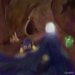 Chinchou Caverns by Galbert