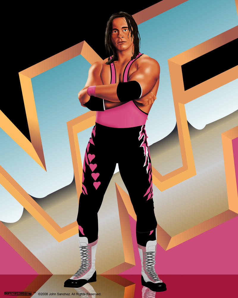 WWF Legends - Bret Hart by sanchezdesigns