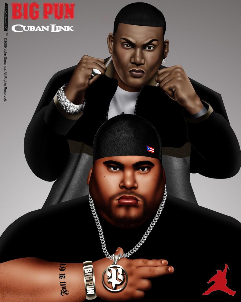 Big Punisher Y Cuban Link by Johns-ASC