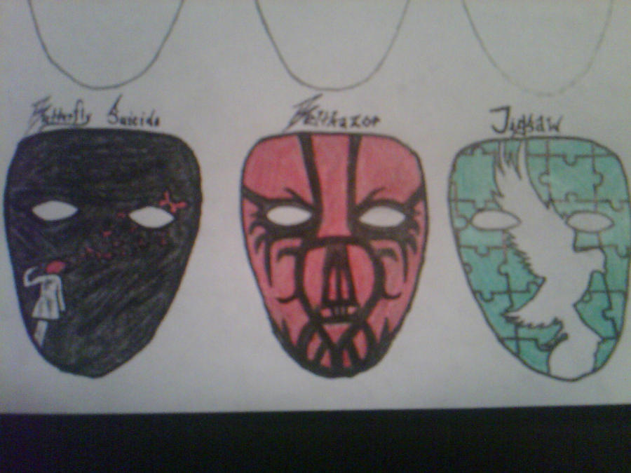 My Hollywood Undead Masks :1: by TheSnow79 on DeviantArt