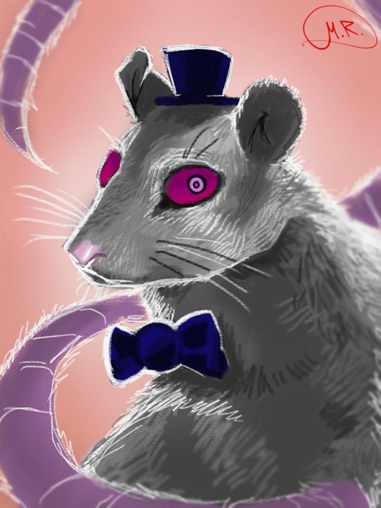 Mr. Mouse ::random doodle:: by MaryTanDraws