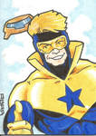 Booster Goild commission sketch card