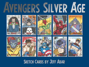 Avengers Silver Age Sketch Cards 4