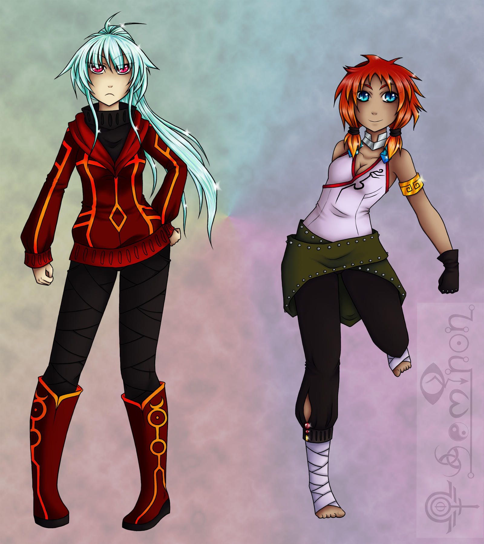 Formora and Kyana (Concept) by Seminon
