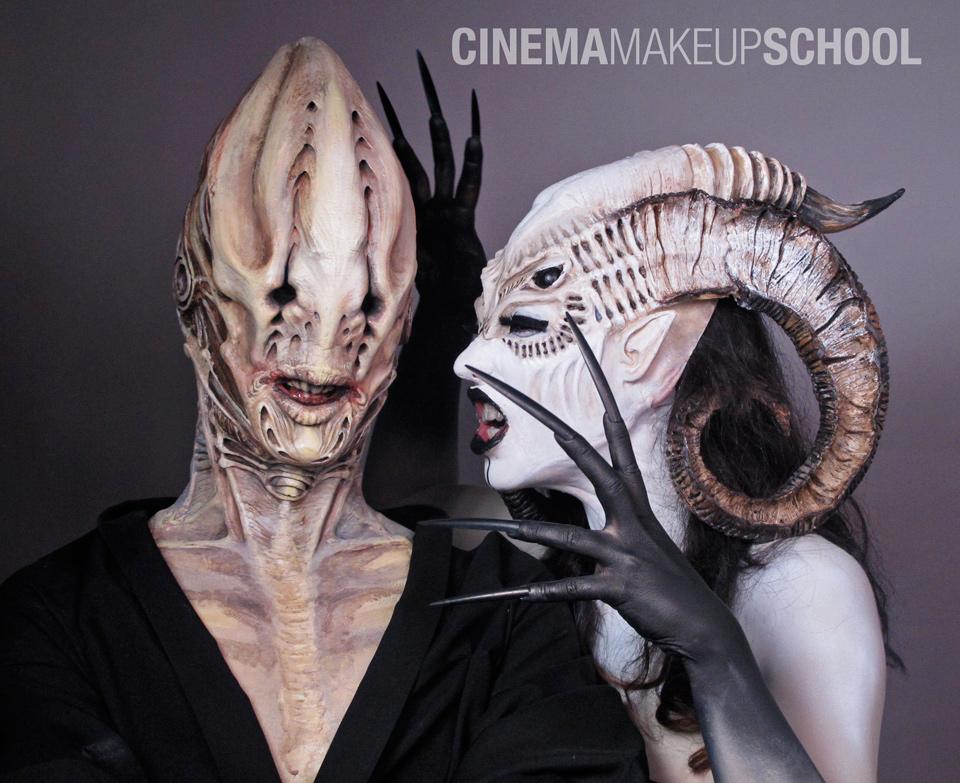Monster attraction by CinemaMakeupSchool