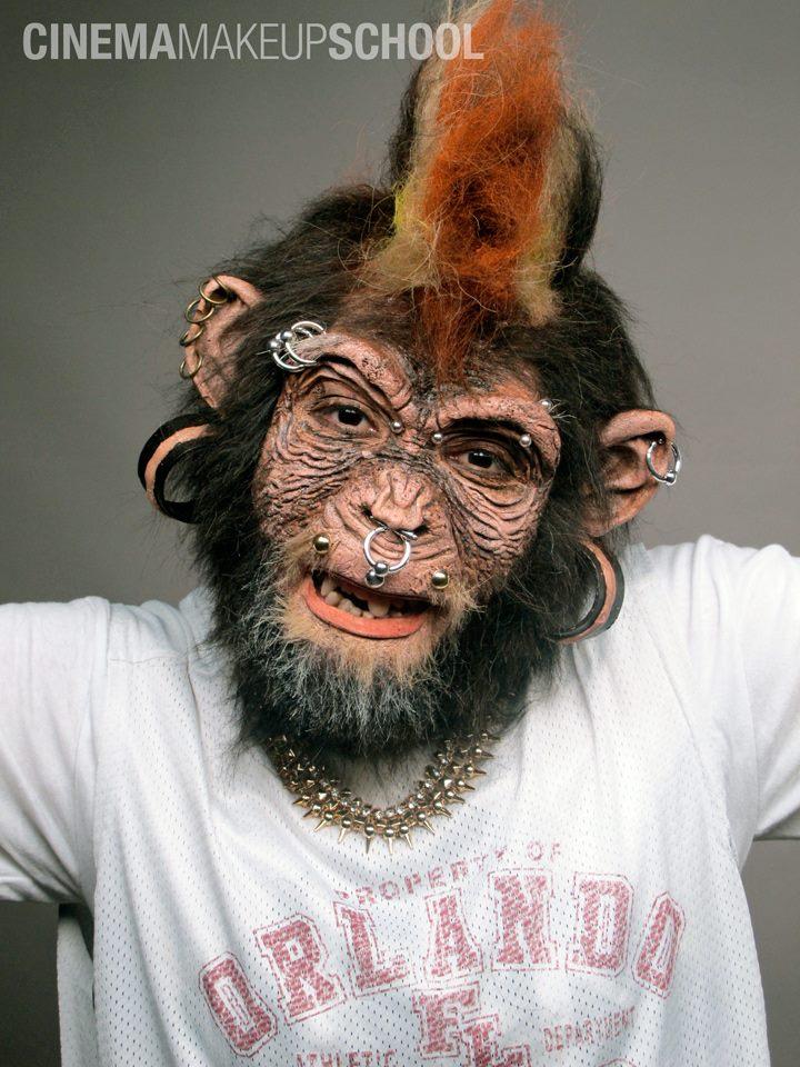 Monkey by CinemaMakeupSchool