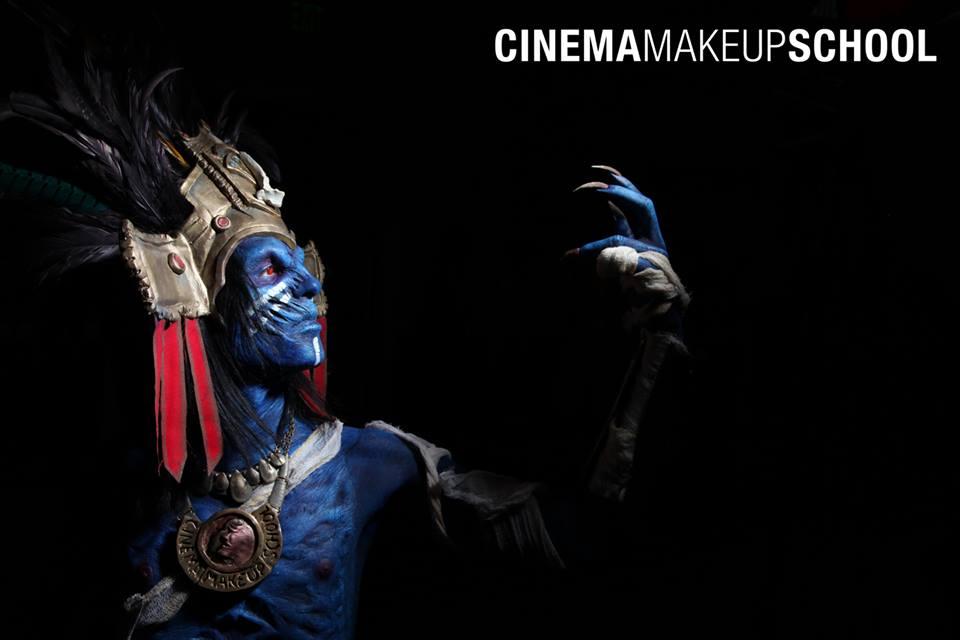 Aztec God by CinemaMakeupSchool