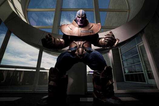 ALL SHALL BOW TO THANOS