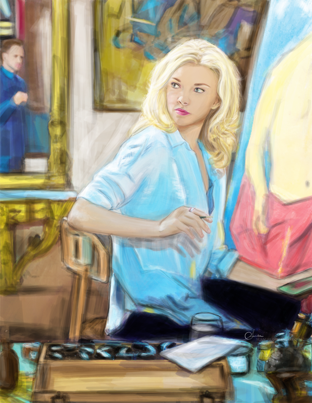 Irene Adler - Elementary by suanlee