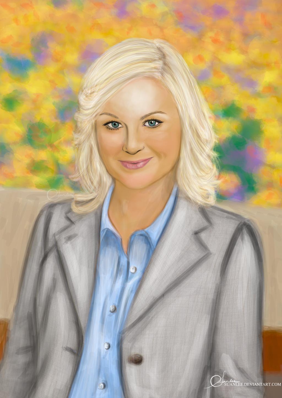 Leslie Knope by suanlee
