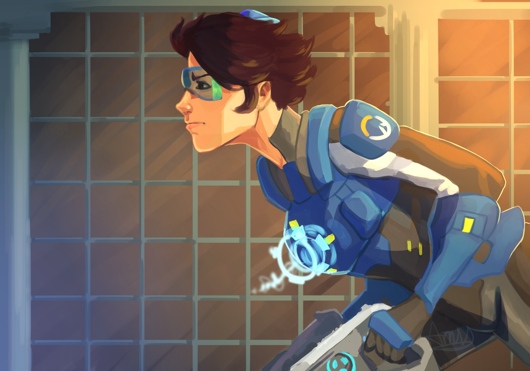 Tracer Uprising ~ Amy by AliceandAmy