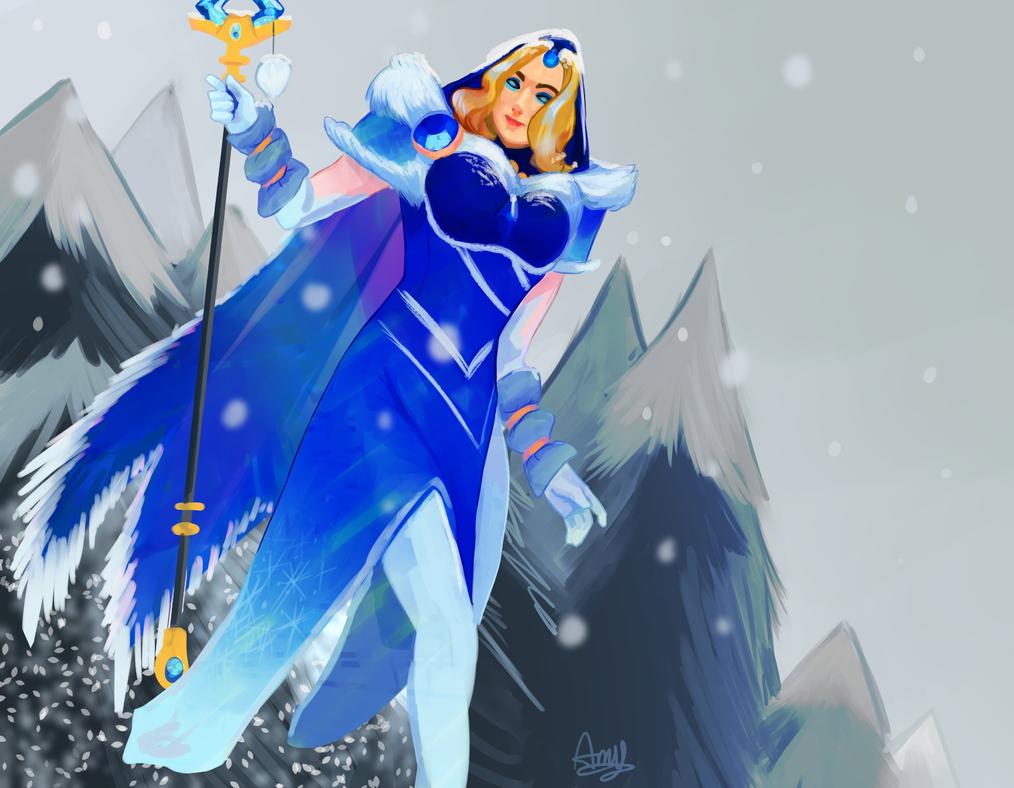 Winter Maiden ~ Amy by AliceandAmy