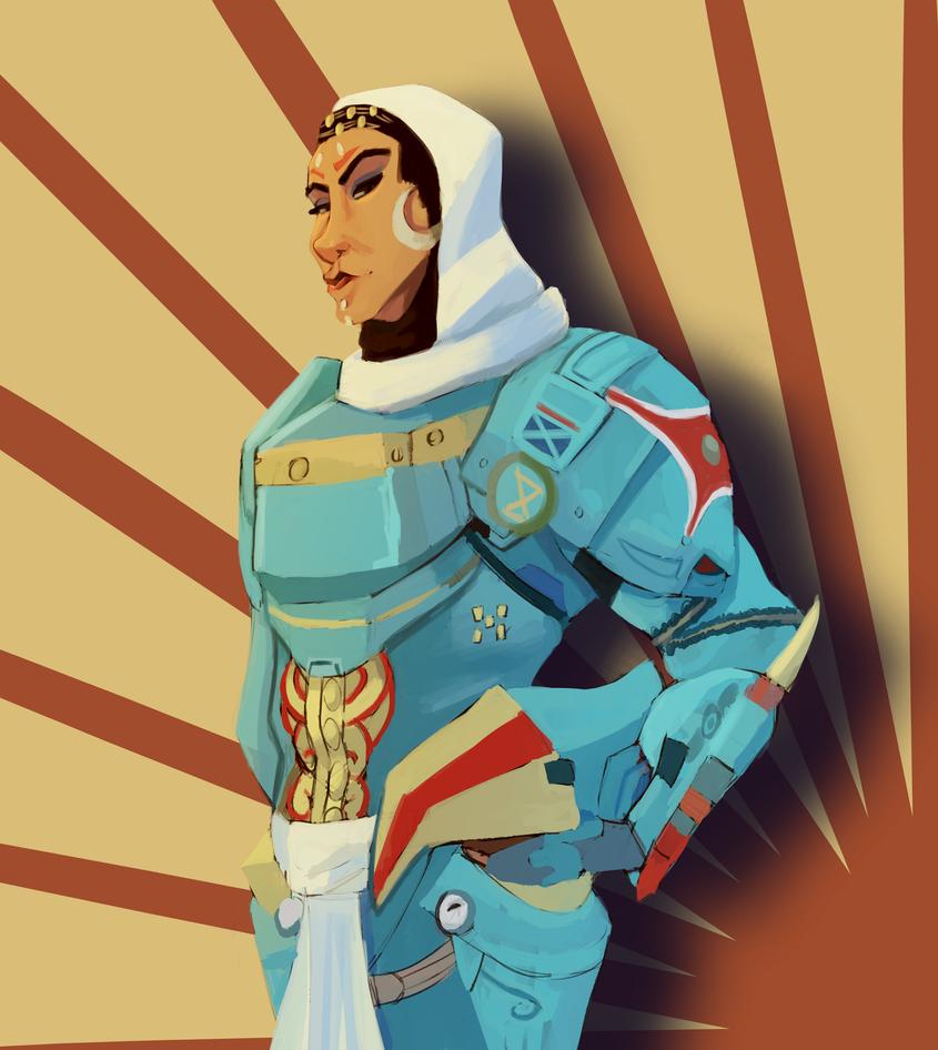 Overwatch Anniversary Pharah ~ Amy by AliceandAmy