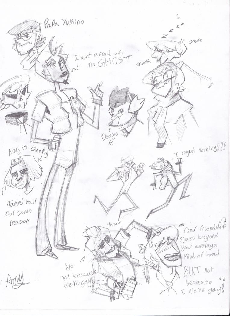 MSA Sketchdump *-* ~ Amy by AliceandAmy