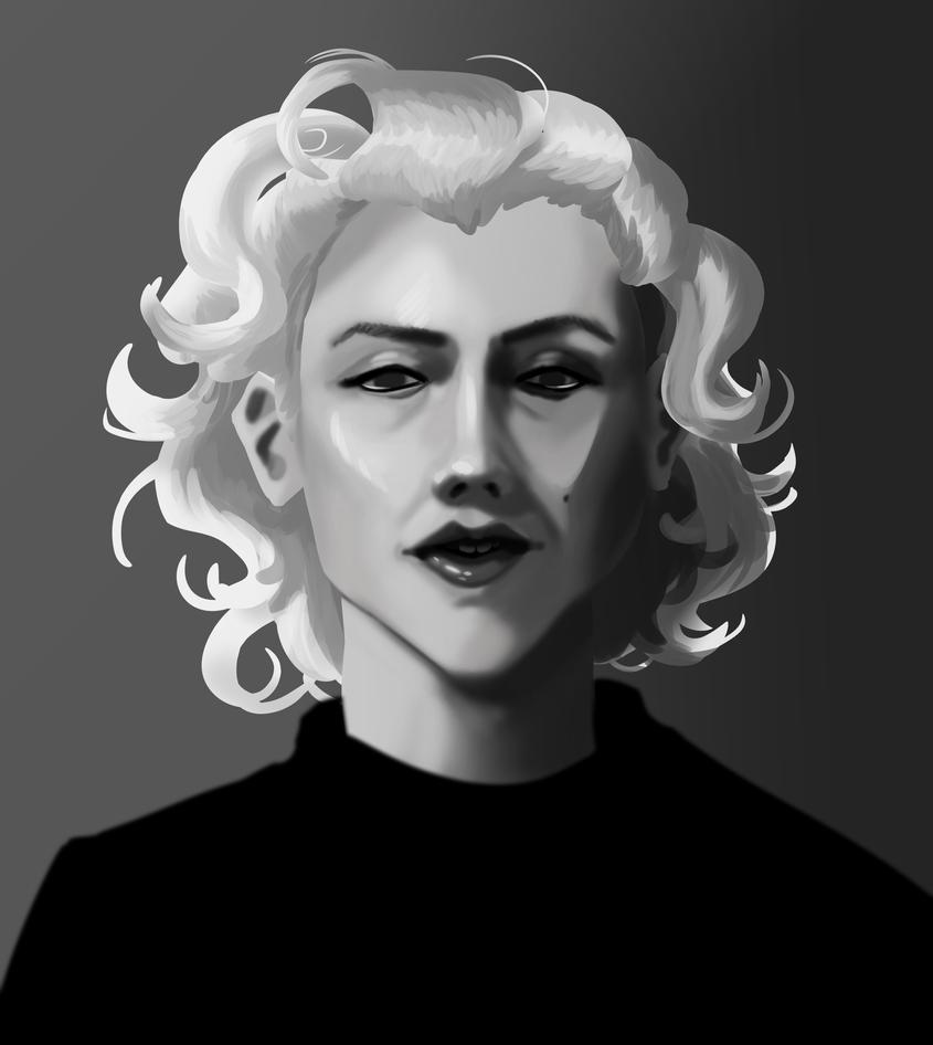 Marilyn Monroe Painted by AliceandAmy