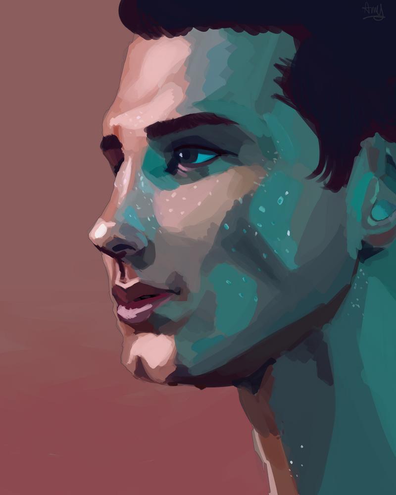 Portrait (2/4) ~ Amy by AliceandAmy