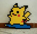 LEGO: Surfing Pikachu_2