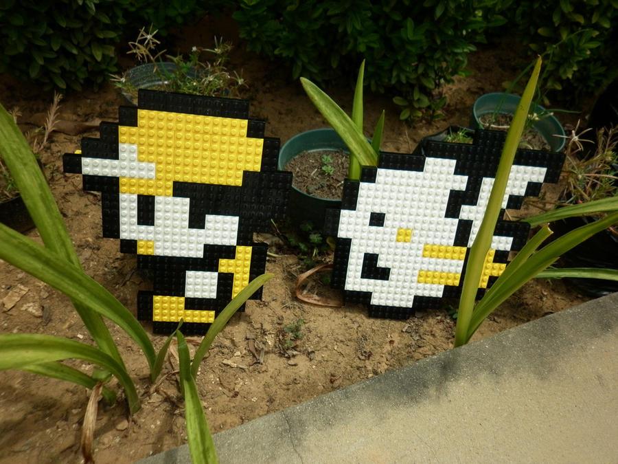 LEGO: Ash, Pikachu_2 by Meufer