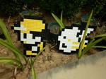 LEGO: Ash, Pikachu_2