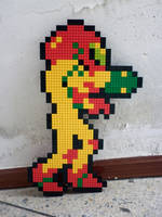 LEGO: Samus Aran -reloaded- by Meufer