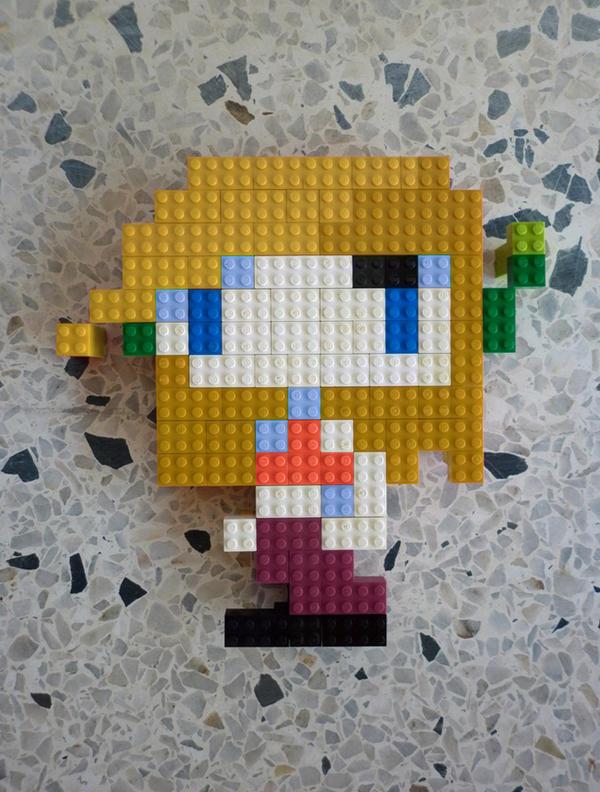 LEGO: Curly Brace by Meufer