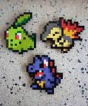 LEGO: Pokemon Starters Gen 2