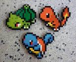 LEGO: Pokemon Starters Gen 1