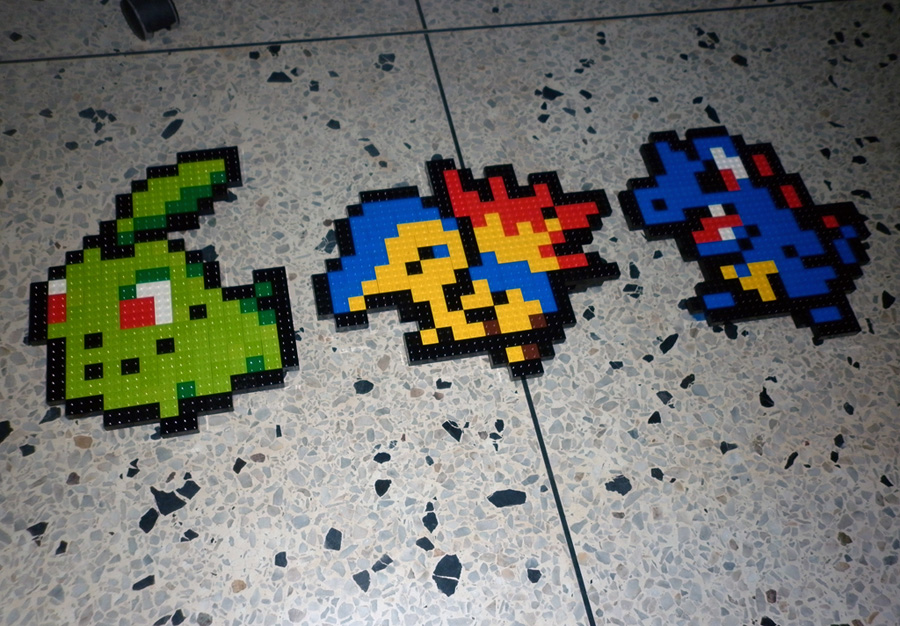 LEGO: Pokemon Starters Gen 2_2 by Meufer