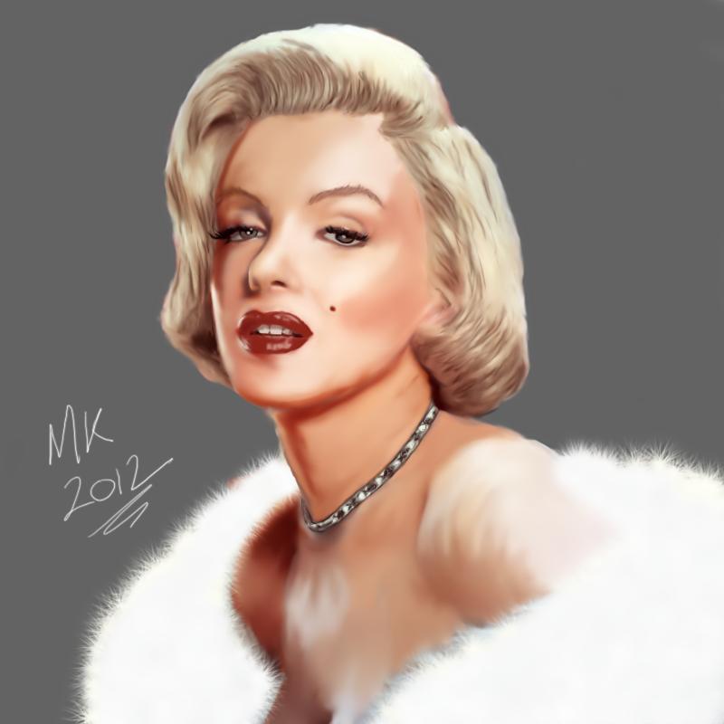 Maniak Portfolio Marilyn_monroe_by_maniakuk-d4lps54