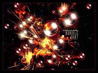 Bubble Art by Maniakuk
