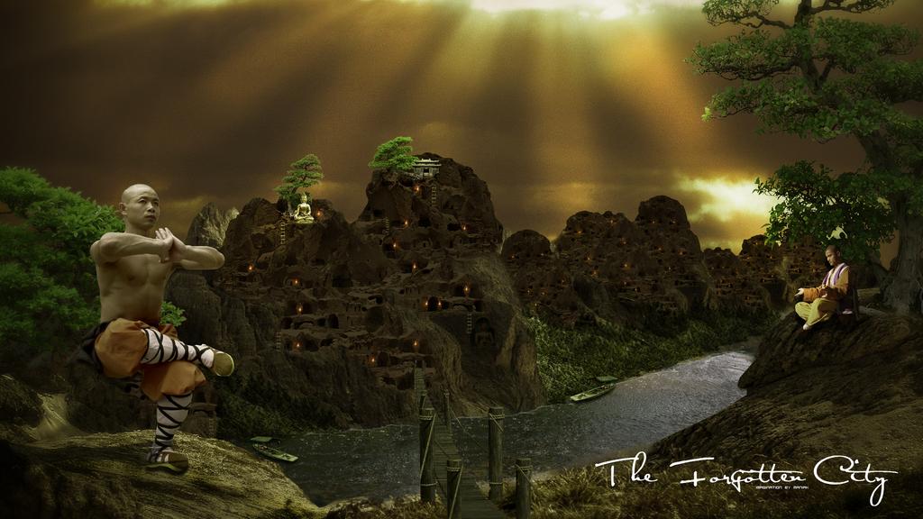 Forgotten City by Maniakuk