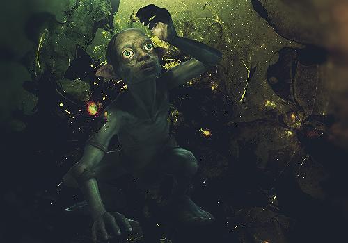 Gollum by Maniakuk