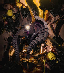 Anubis by Maniakuk