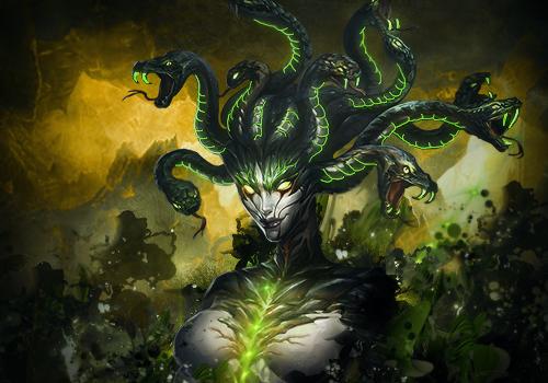 Medusa by Maniakuk