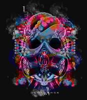 Death Mask by Maniakuk