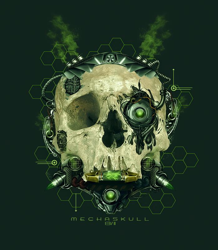 Maniak Portfolio Mecha_skull_by_maniakuk-d93rdu2