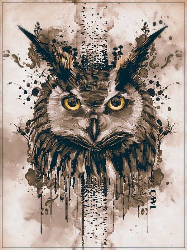 Maniak Portfolio Owl_by_maniakuk-d9ky568