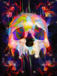 Skull Colours by Maniakuk