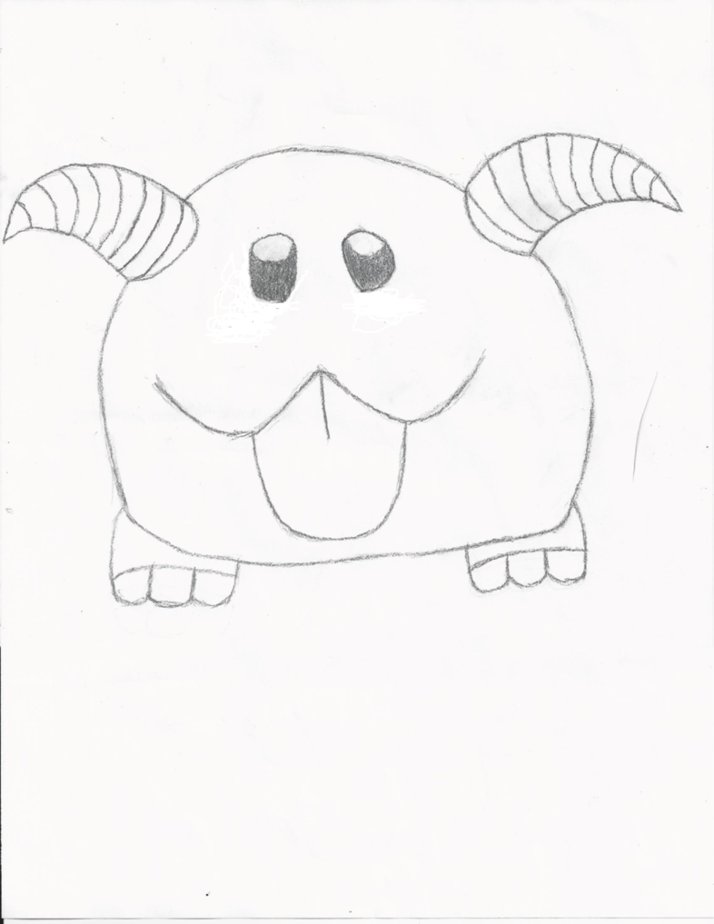 Poro Drawing by FrozenCrimson3