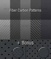Fiber Carbon Pattern Backgroun by khatrijiya