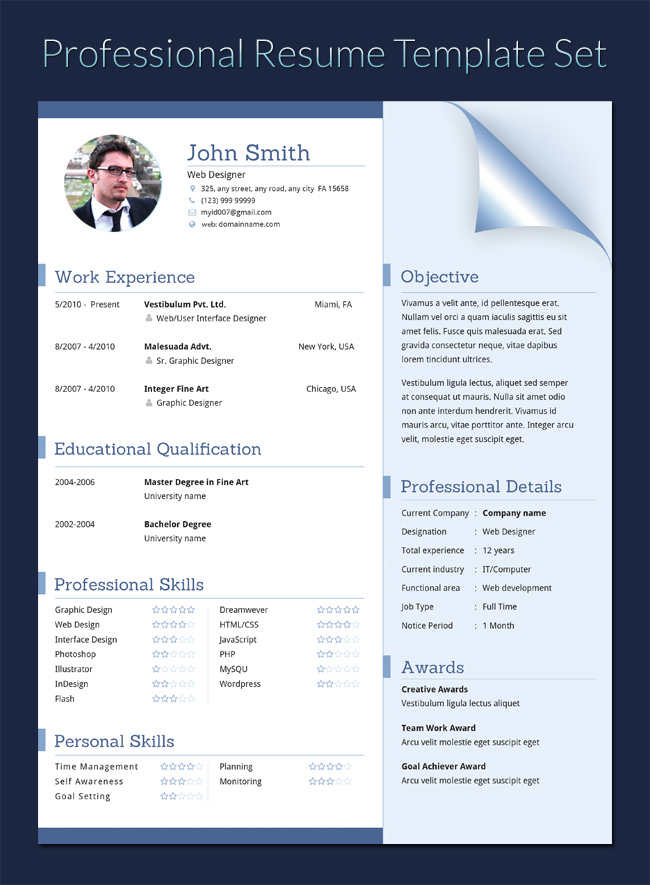 20 Executive Resume Templates Pdf Doc Free Premium Templates
