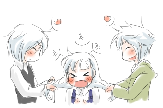 Teasing by ShinigamiAkela