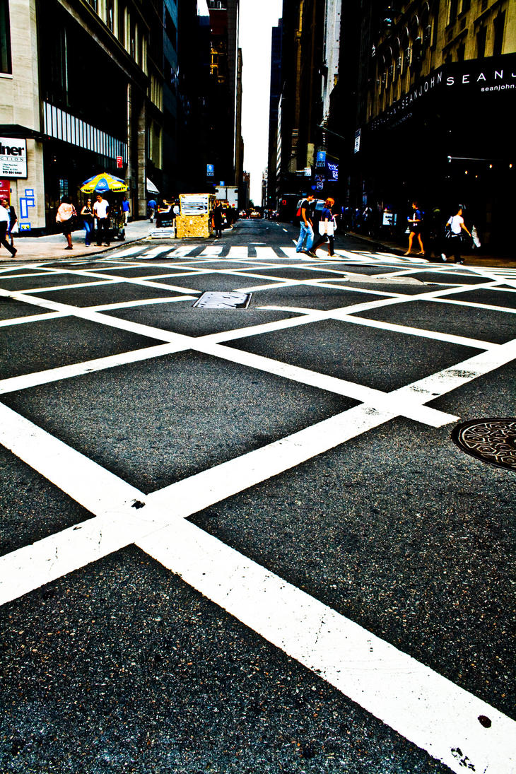 Crossing Streets by Cicerl