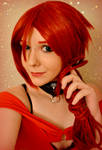 Waiting for Allycat. Sunstone cosplay